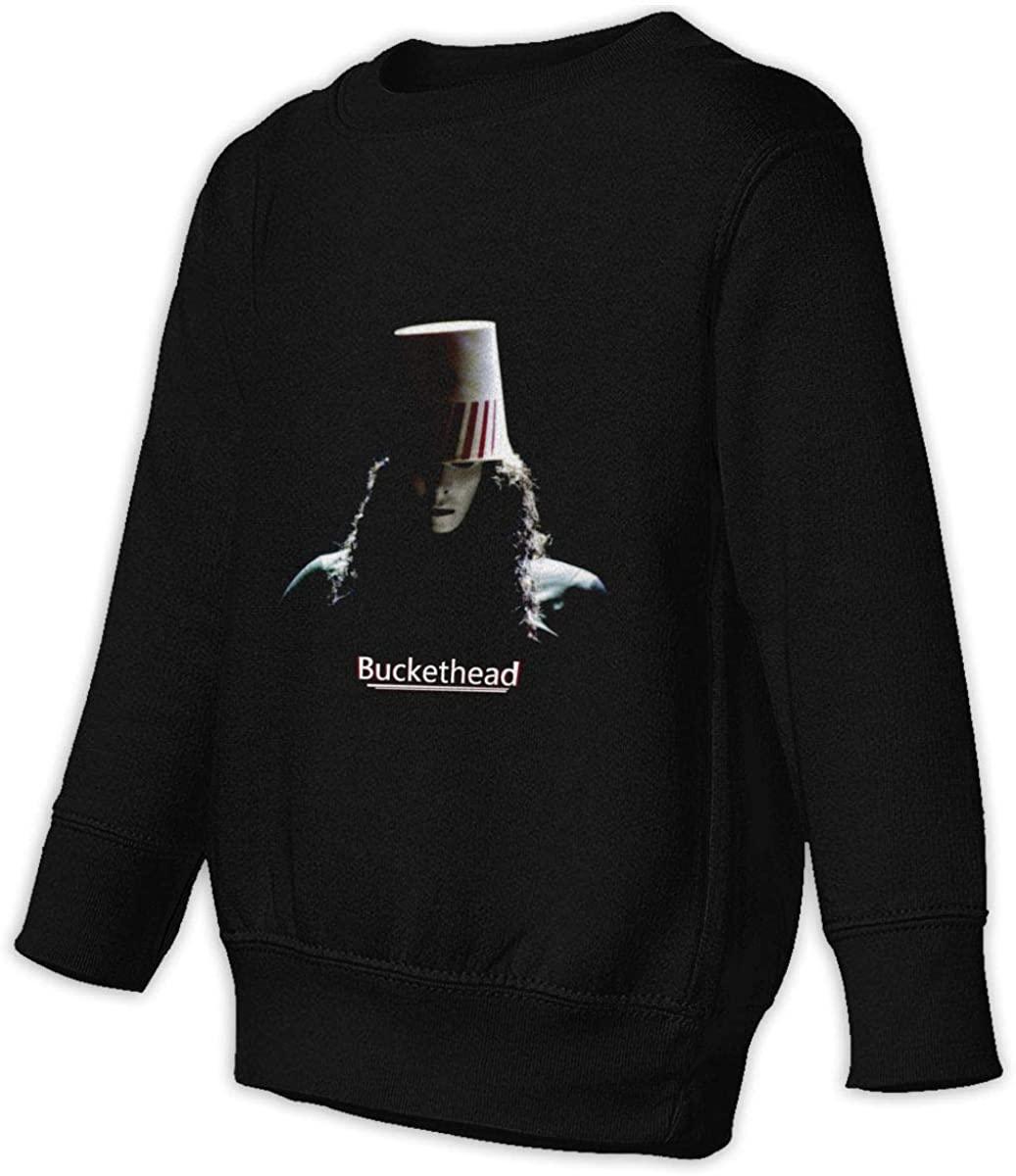 BodiGulick Buckethead Boys and Girls Sweatshirts, Cotton Sports Tops Sweatshirt Black