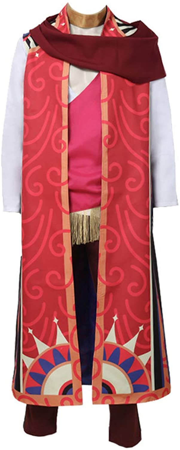HXMCOS Cosplay Costume The Arcana Asra Long Dresses Anime