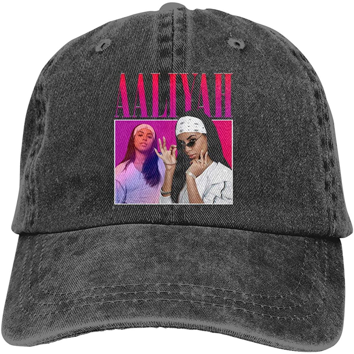 GOOANGUS Aaliyah Adjustable Unisex Hat Baseball Caps Black