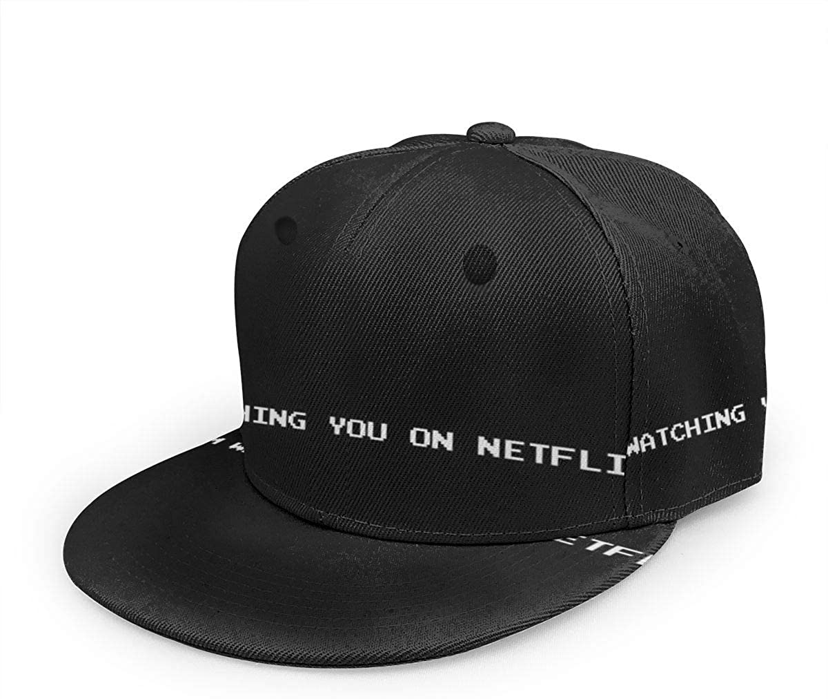 Black Mirror Bandersnatch Im Watching You On Netflix -Unisex Baseball Cap Printed Fashion Sport Pop Baseball Cap