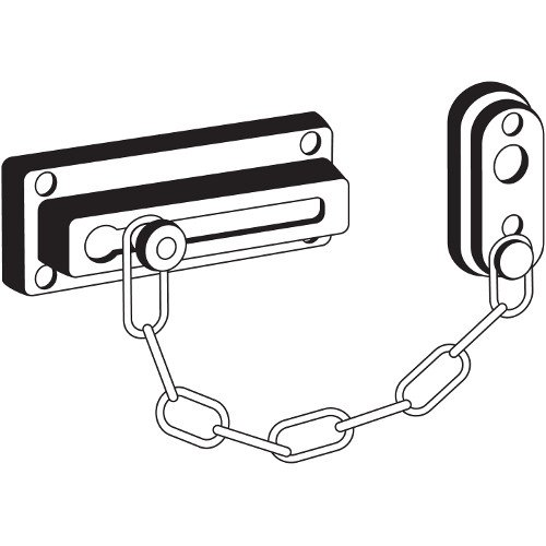 Pro-Lok Door Guard - Chain 3-5/8