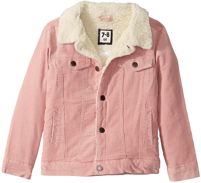Cotton On Girl's Jamie Cord Jacket (Little Kids)