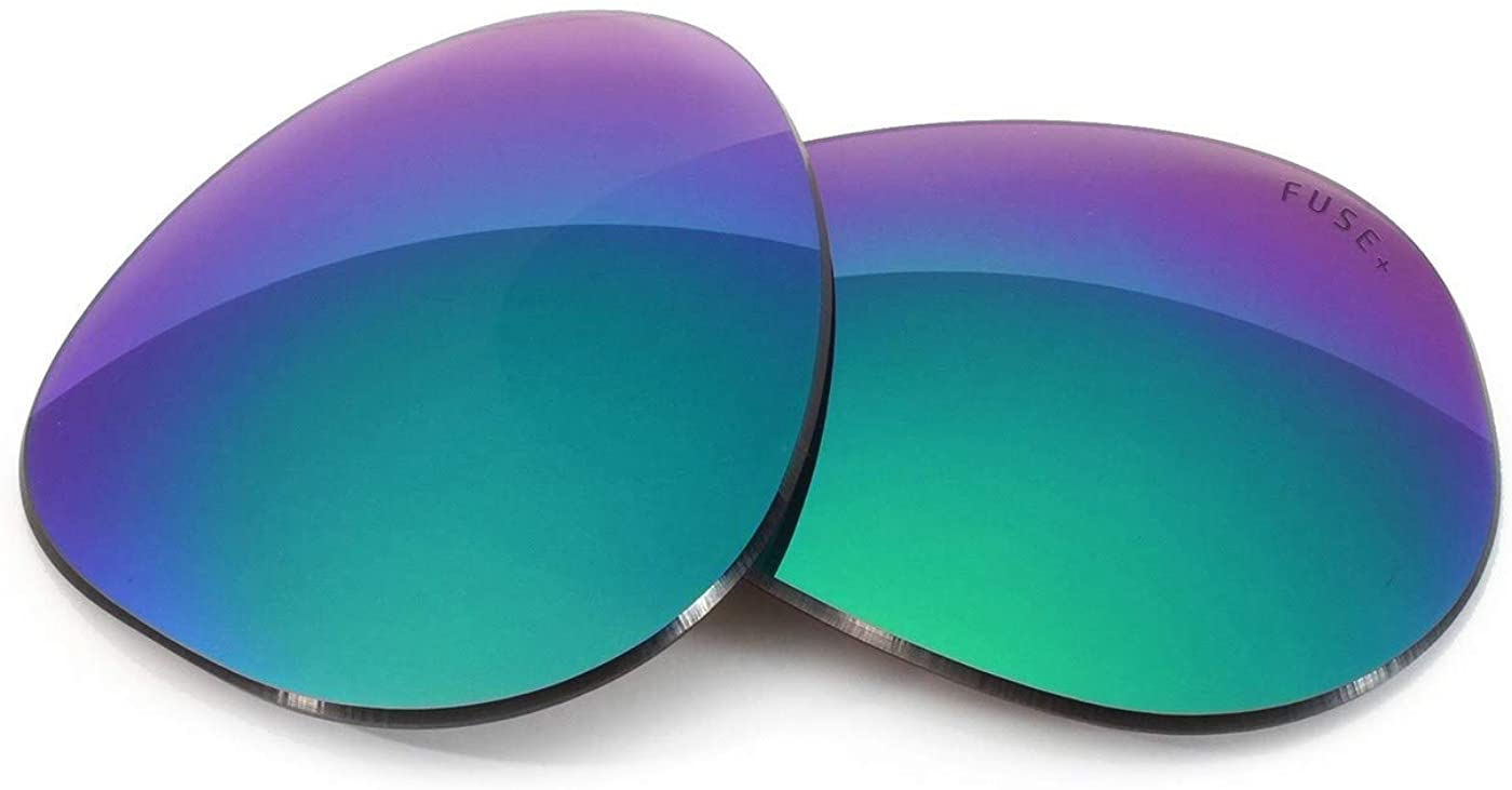 Fuse Lenses Fuse +Plus Replacement Lenses for Ray-Ban RB3030 Outdoorsman (58mm)