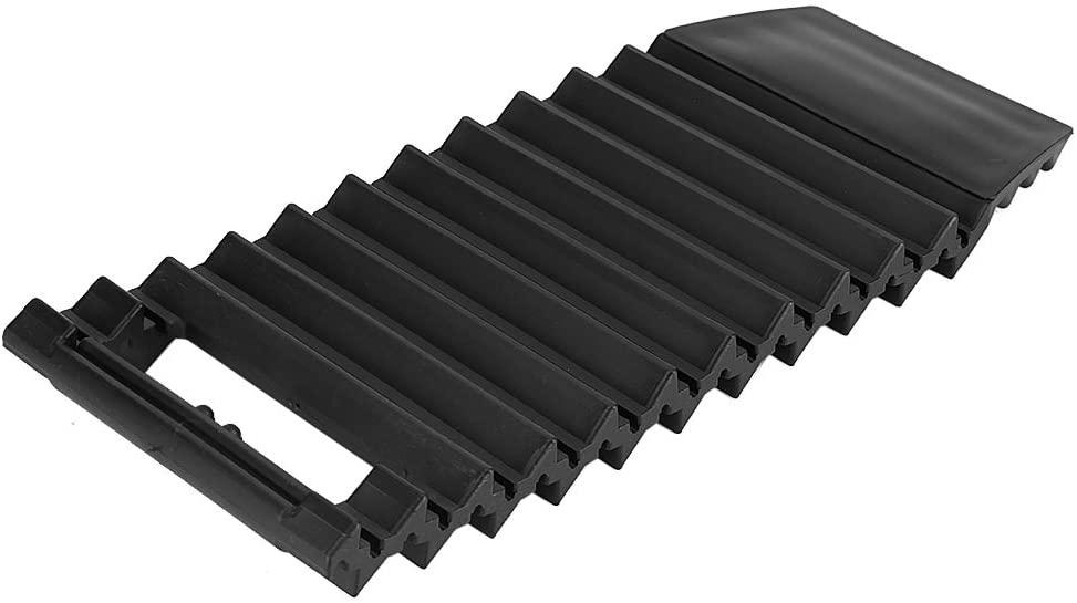 Senyar Car Wheel Anti-Skid Pad,Universal ABS Anti-Skid Pad Tire Traction Non-Slip Mat Plate Grip for Snow Mud(Black)