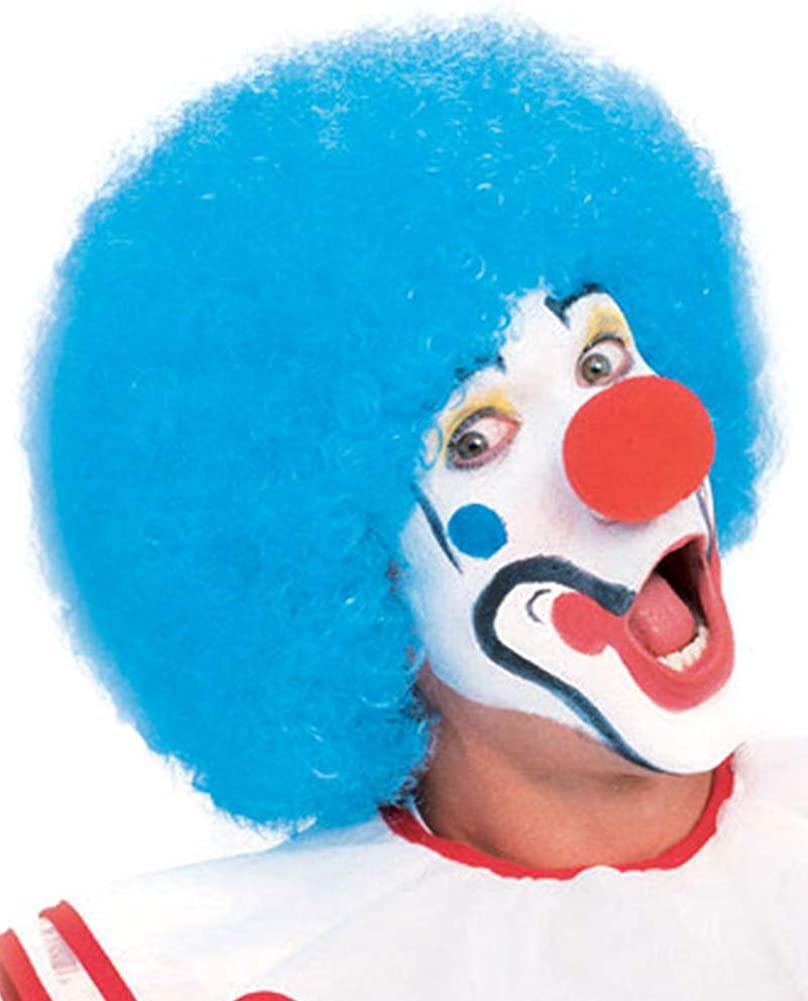 Rubie's Popular Price Clown Wig, Blue, One Size