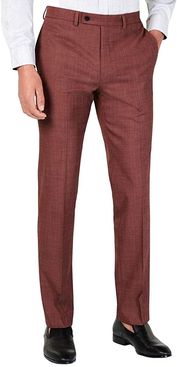 Calvin Klein Mens Jerome Slim-Fit Stretch Suit Pants