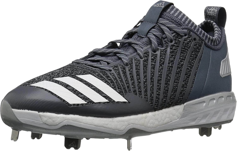 adidas Mens Freak X Carbon Mid Baseball Shoe, Onix/White/Metallic Silver, 10 Medium US