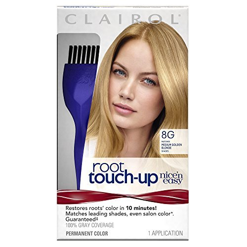 Clairol Nice 'n Easy Root Touch-Up 8G Medium Golden Blonde 1 Kit by Clairol