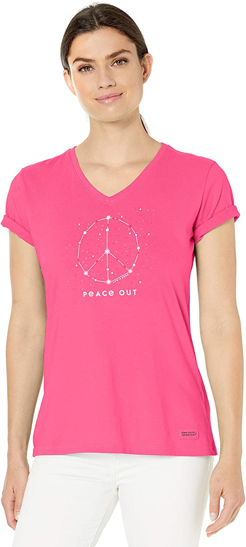 Life is Good Womens Womens Crusher V-Neck T-Shirt