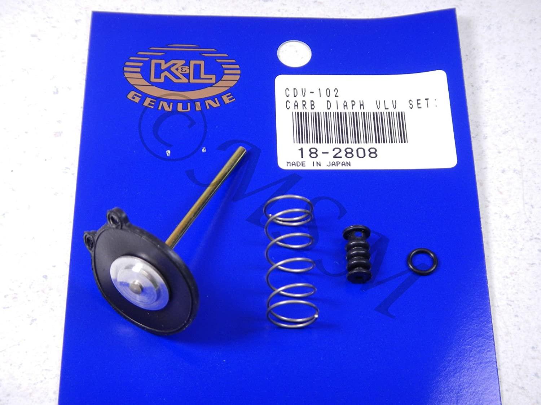 81-82 Honda GL500 Silver Wing New K&L Carburetor Accelerator Pump Set 18-2808