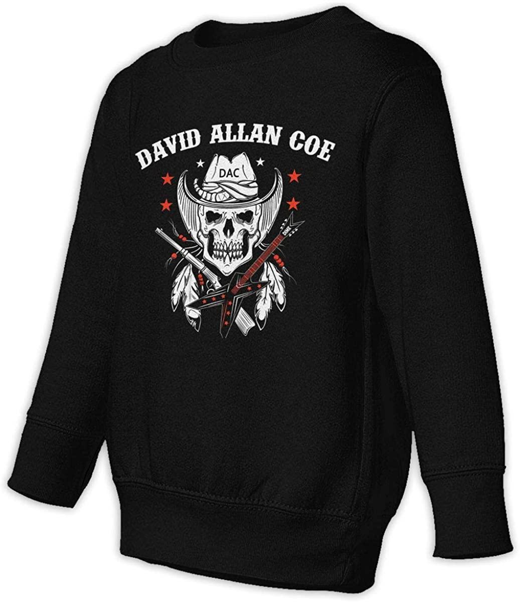 ASDFNLSF David Allan Coe Unisex Sweatshirt Youth Boy and Girls Pullover Sweatshirt