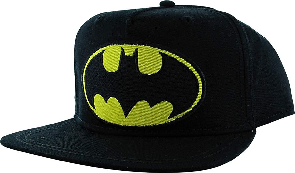 Batman Classic Logo Youth Snapback Hat Black