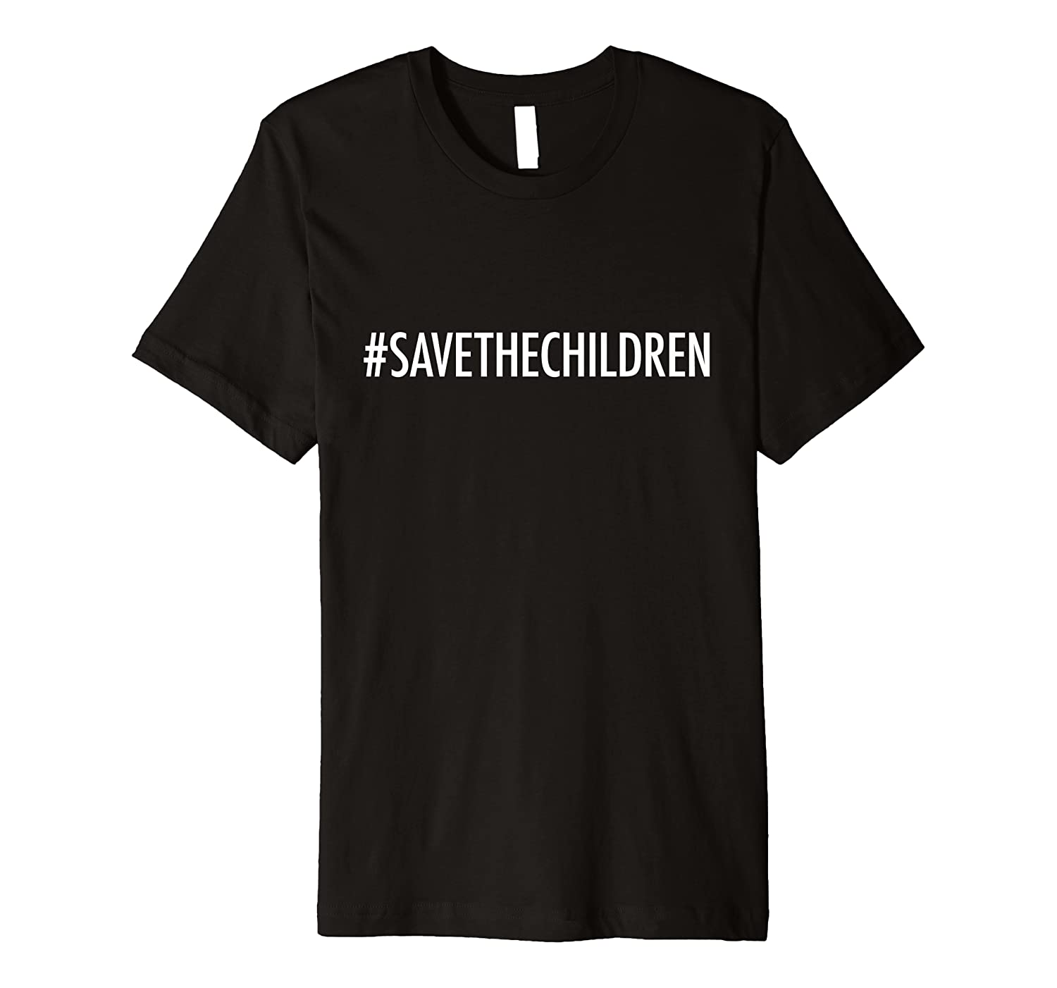 #Savethechildren Save Children Trafficking Awareness Babies Premium T-Shirt
