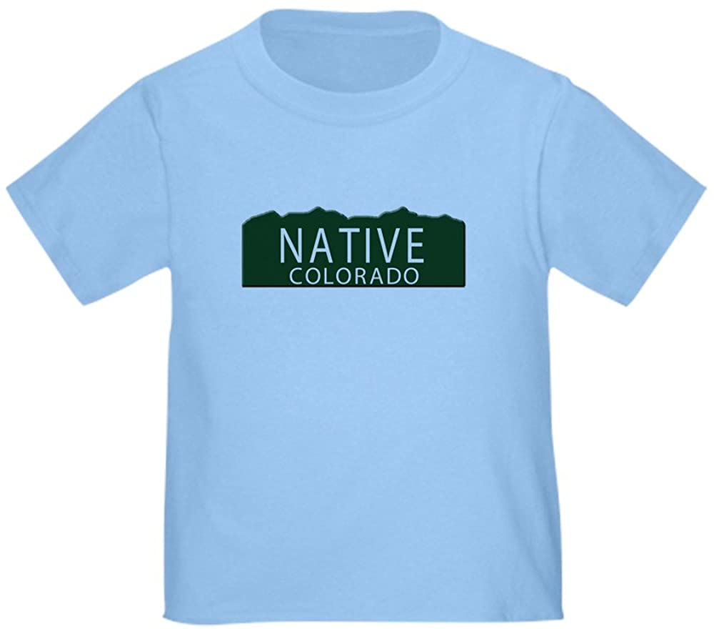 CafePress Native Colorado Toddler T-Shirt Toddler Tee