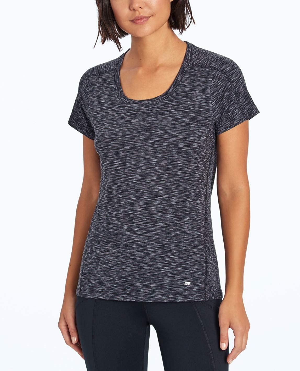 Marika Womens Short Sleeve Space Dye T-Shirt