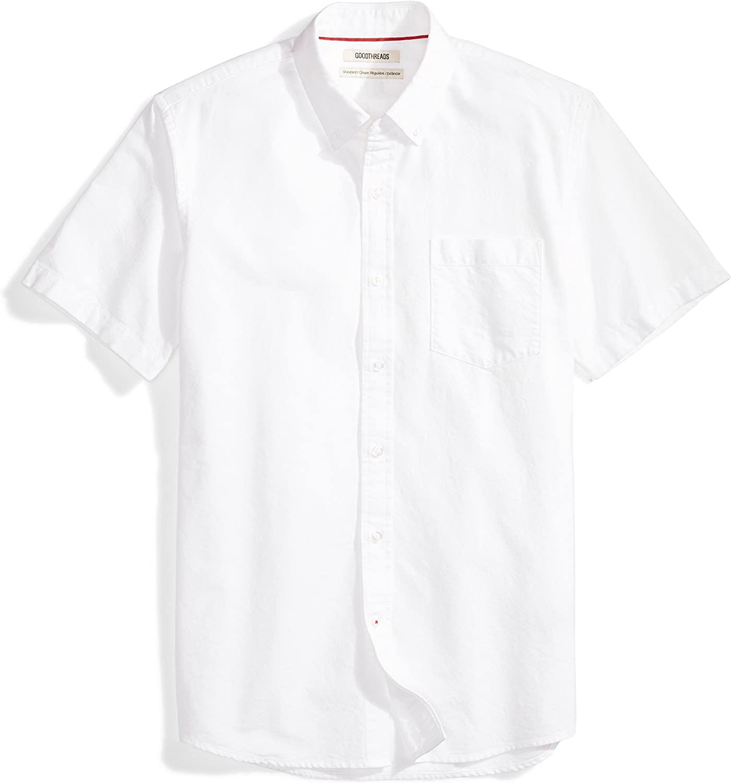 DHgate Brand - Goodthreads Men's Standard-Fit Short-Sleeve Oxford Shirt w/Pocket