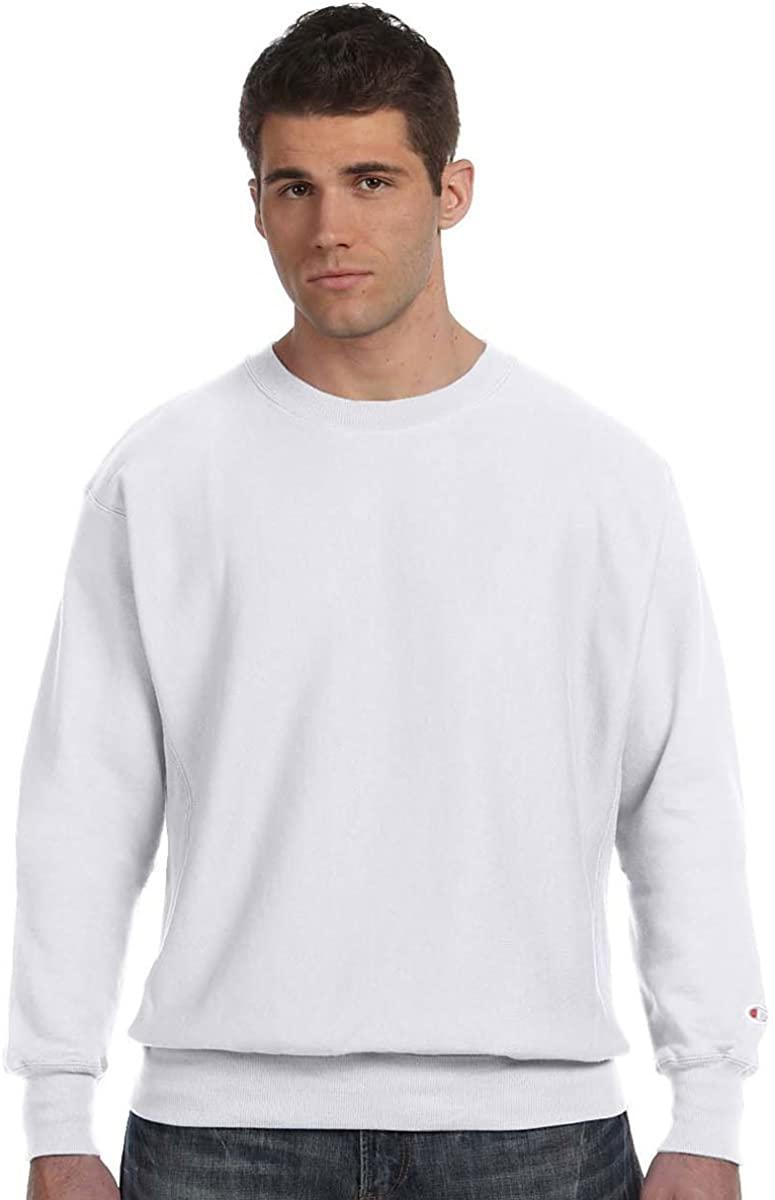 Champion Reverse Weave Fleece Sweatshirt, 2XL, Silver Grey (light grey)