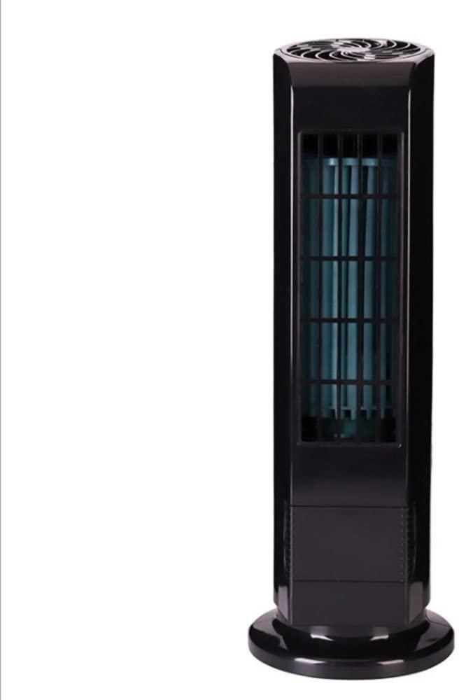 TY&WJ Usb Tower fan Mini Small desktop fanbladeless quiet Home Tabletop Housing Portable Fan-black 4x13inch