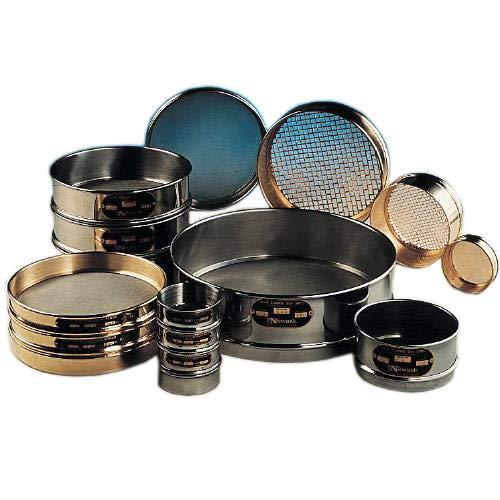 Newark Wire 0301098#50 U.S. Standard Stainless Steel Soldered Sieve Const, 300 um, 6