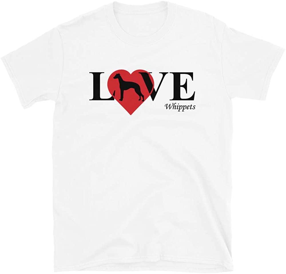Whippet Love Short-Sleeve Unisex T-Shirt
