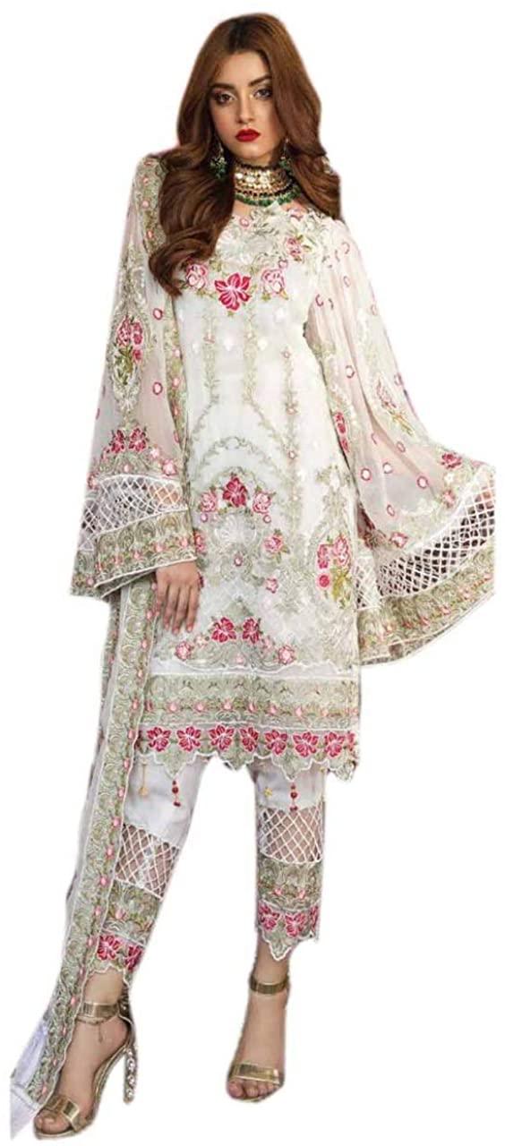 Eid Special Design Salwar Kameez Palazzo Salwar Georgette Straight Ghagra Anarkali Salwar Kameez Bollywood Style