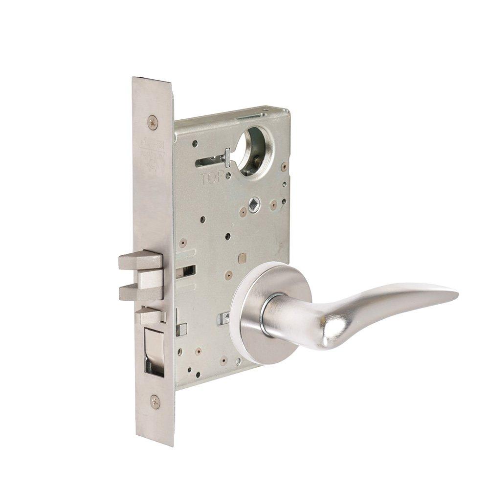 CORBINRUSSWIN ML2051-DSA-626-R-LC 626 Satin Chrome, Lever DSA Dirke, Entrance/Entry/Office, Steel; Stainless Steel; Brass