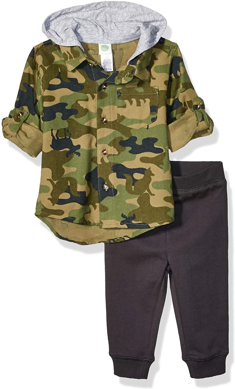 Little Me Baby Boy's Boys Flannel Shirt Sets Pants