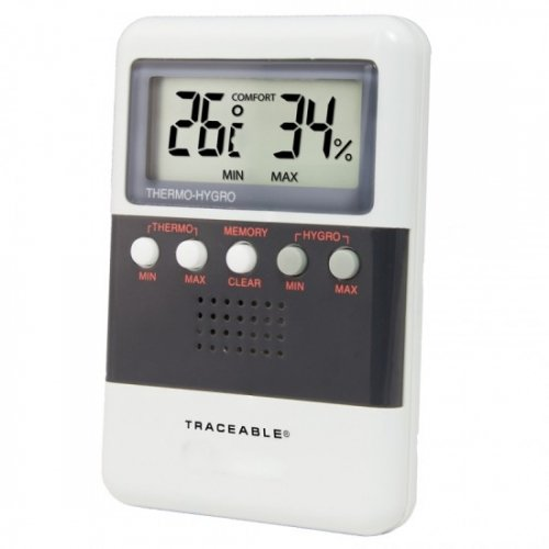 Control Company 4094 Traceable Digital Humidity/Temperature Meter