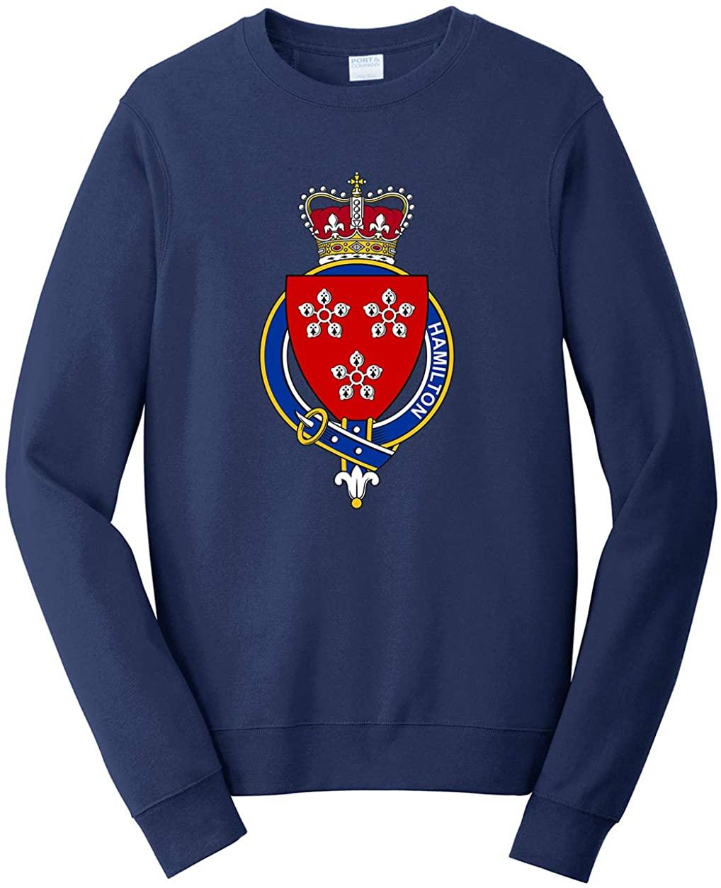 Tenacitee Unisex Scottish Garter Family Hamilton Sweatshirt