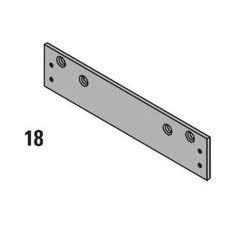 LCN 126018 1260-18 689 Drop Plate, Aluminum
