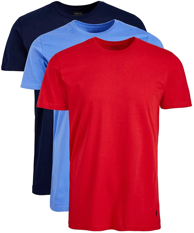 POLO RALPH LAUREN Mens 3-Pk. Classic Crew-Neck T-Shirts