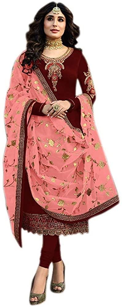 Indian Pakistani Casual Wear Salwar Palazzo Suits Designer Simple Beautiful Suits