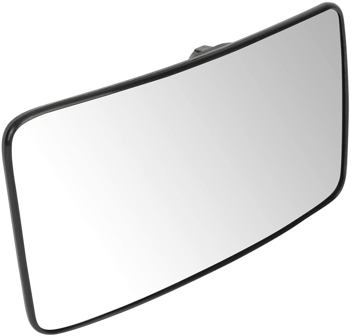 DNA Motoring OEM-MG-0193 9C3Z17K707A OE Style Passenger/Right Heated Lower Towing Mirror Glass