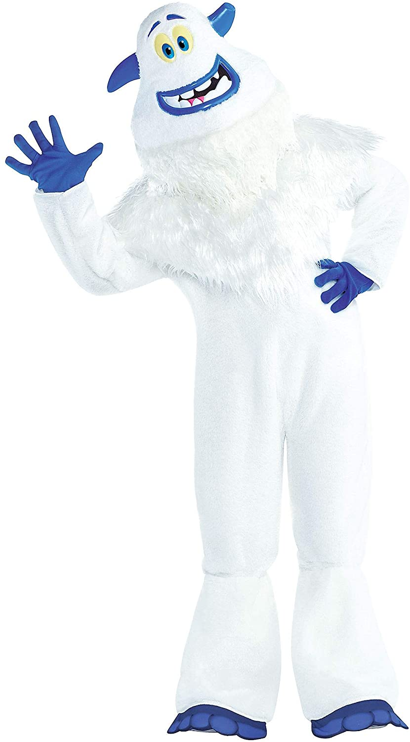 Costumes USA Smallfoot Migo Costume for Boys, Size Small, Includes a Jumpsuit, a Mask, Gloves, a Collar, and More