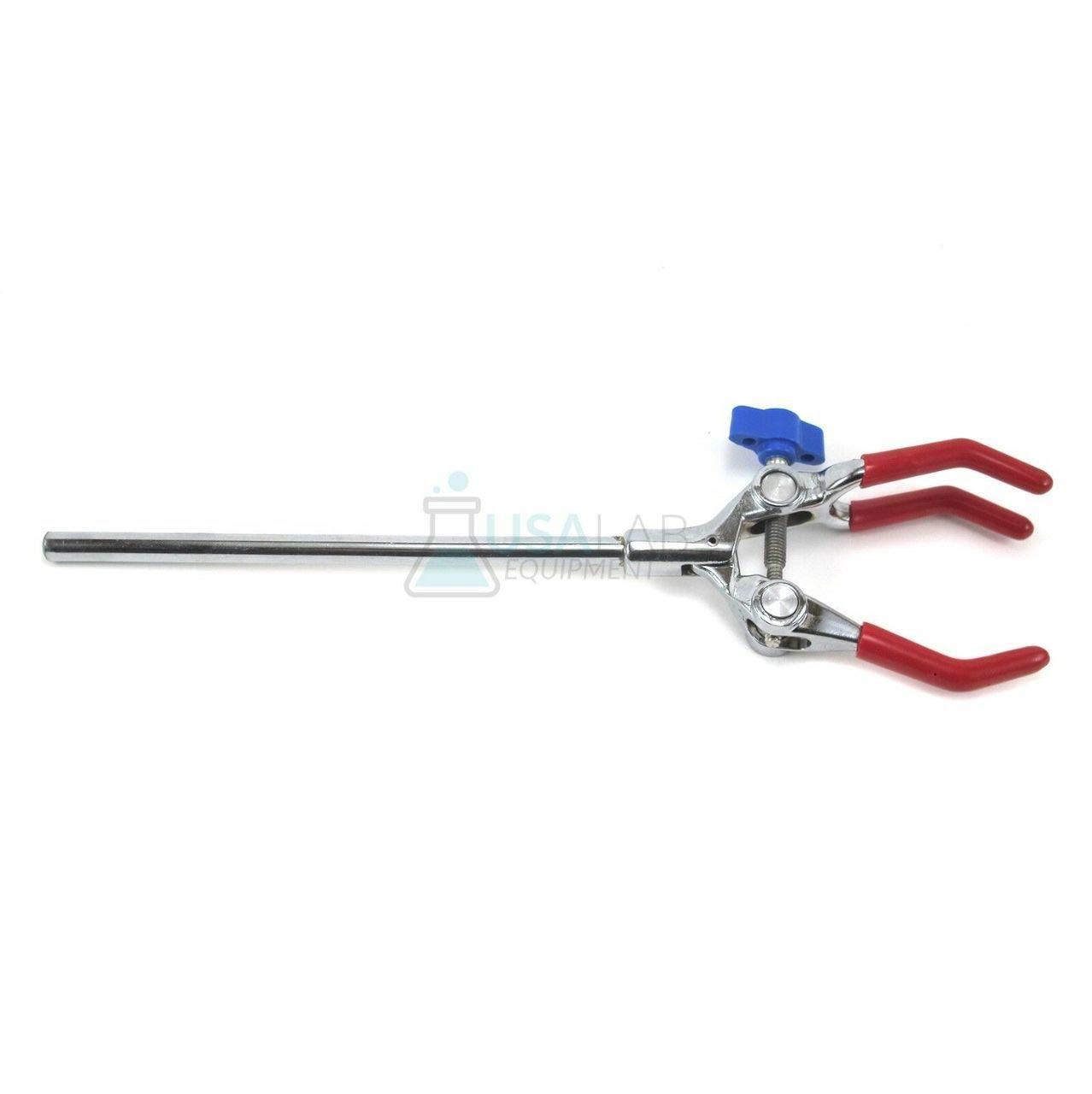 10-90mm 3 Prong Single Adjust Jaw Lab Clamp