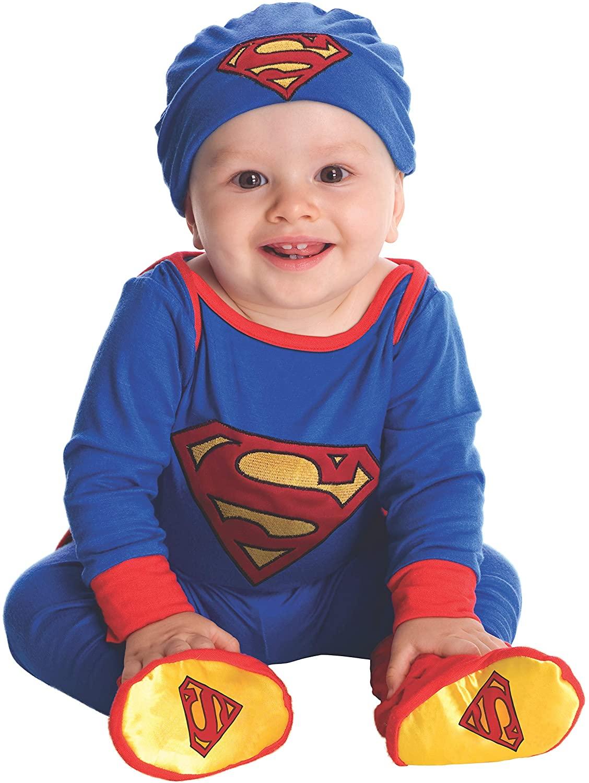 Rubie's Baby's DC Comics Superman Costume, 0-6 Months