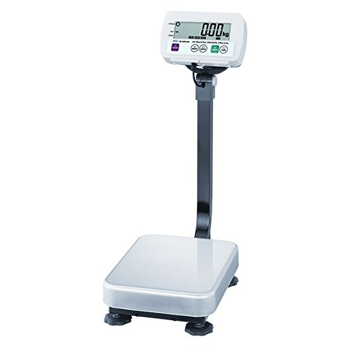 A&D Weighing SE-30KAM Wash-Down Industrial Scale, 66Lb x 0.01Lb/30kg x 0.005kg; 11.75