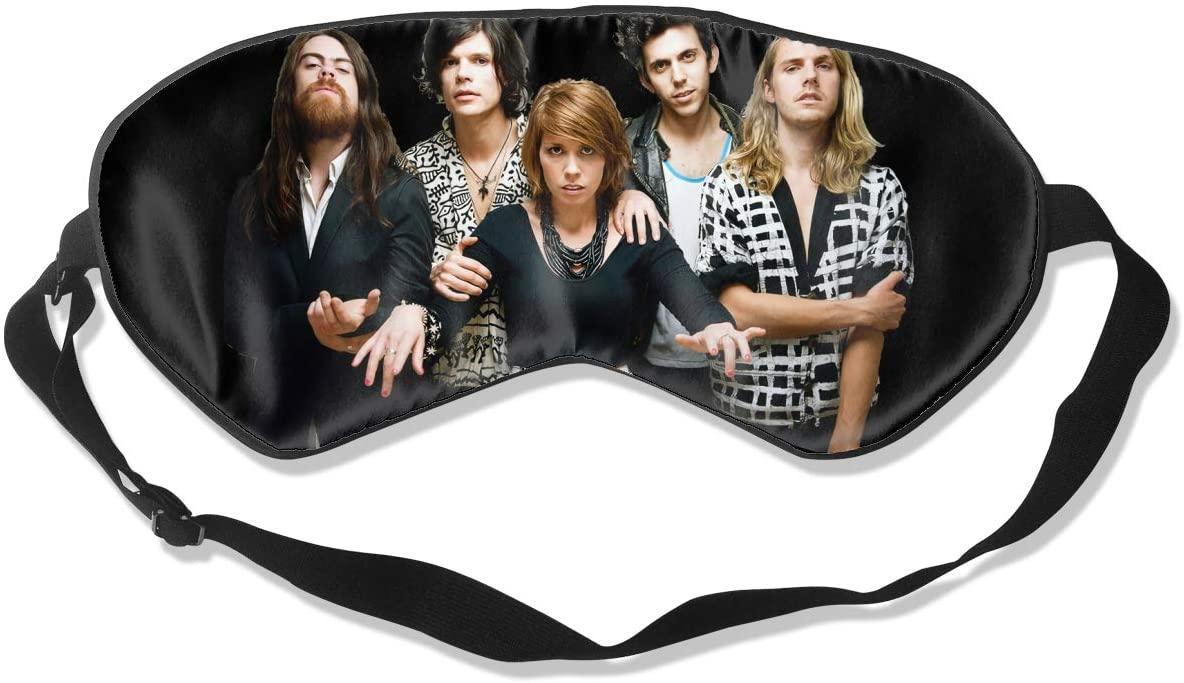 Ktdbthut Grouplove Fashion Sleep Eye Mask Soft Comfortable Unisex with Eye Mask Adjustable Headband