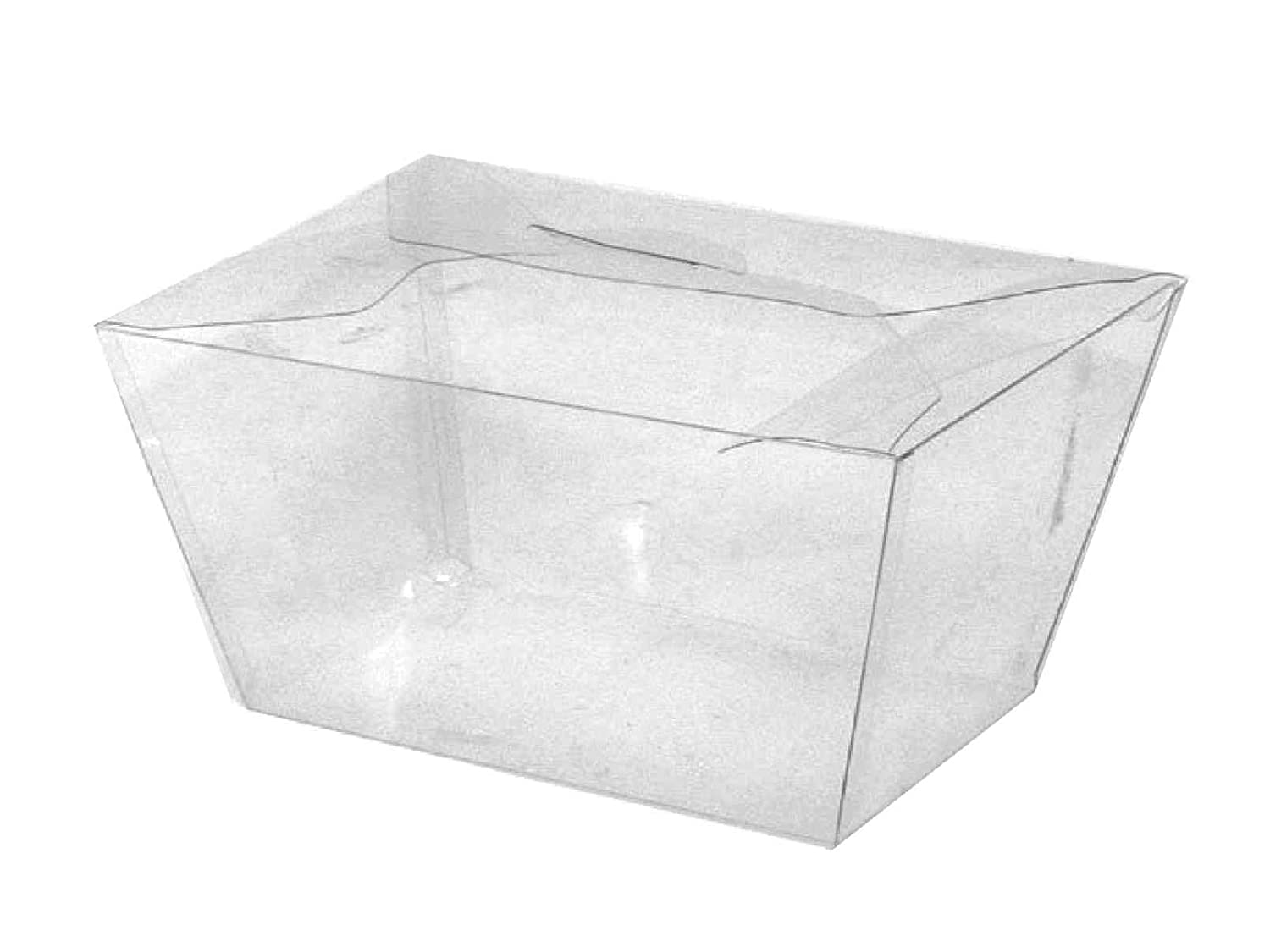 Choice-Pac N-32 Top Opening, Tapered Rectangle Deli Box (Case of 200)