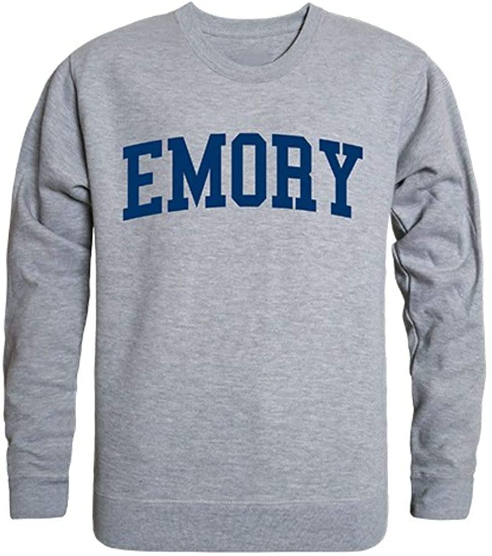 Emory University Game Day Crewneck Pullover Sweatshirt Sweater