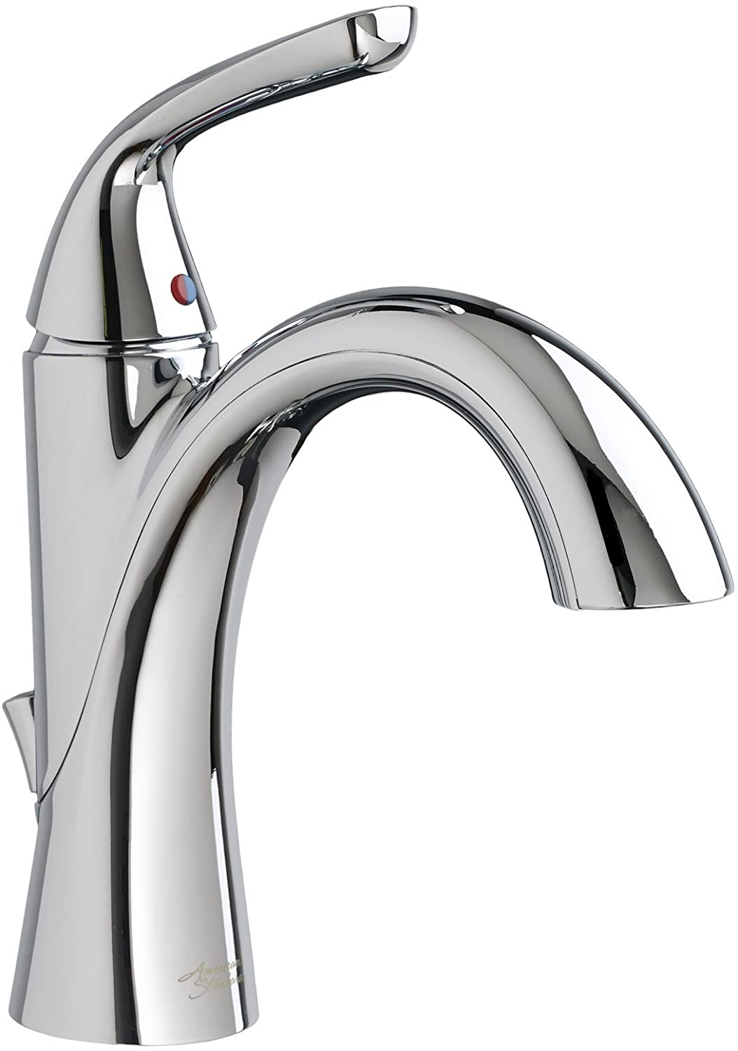 American Standard 7186101.002 Fluent Single Control Bathroom Faucet with Pop-up Drain, 18 in x 18 in, Polished Chrome
