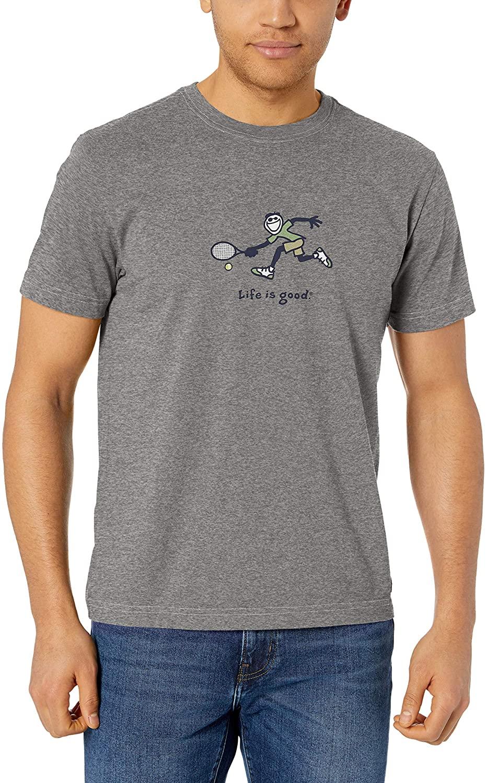 Life is Good Mens Mens Vintage Crusher T-Shirt