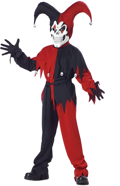 California Costumes Toys Evil Jester, Medium