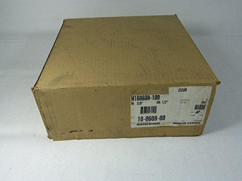 Eaton H160608-100 Clear Tubing 100ft 3/8Inch ID 1/2Inch OD
