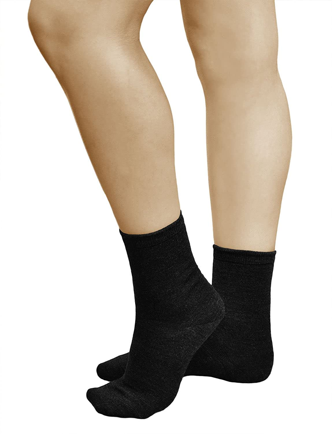 VITSOCKS Womens 80% Merino Wool Soft Warm Socks (3 PAIRS) Top Quality