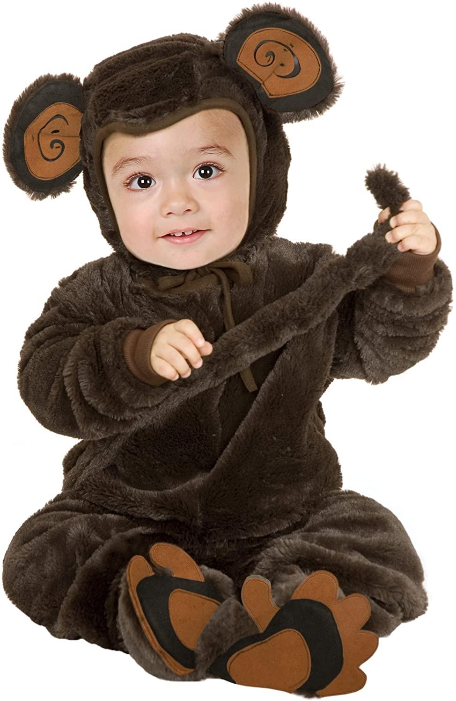Plush Monkey Toddler/Child Costume
