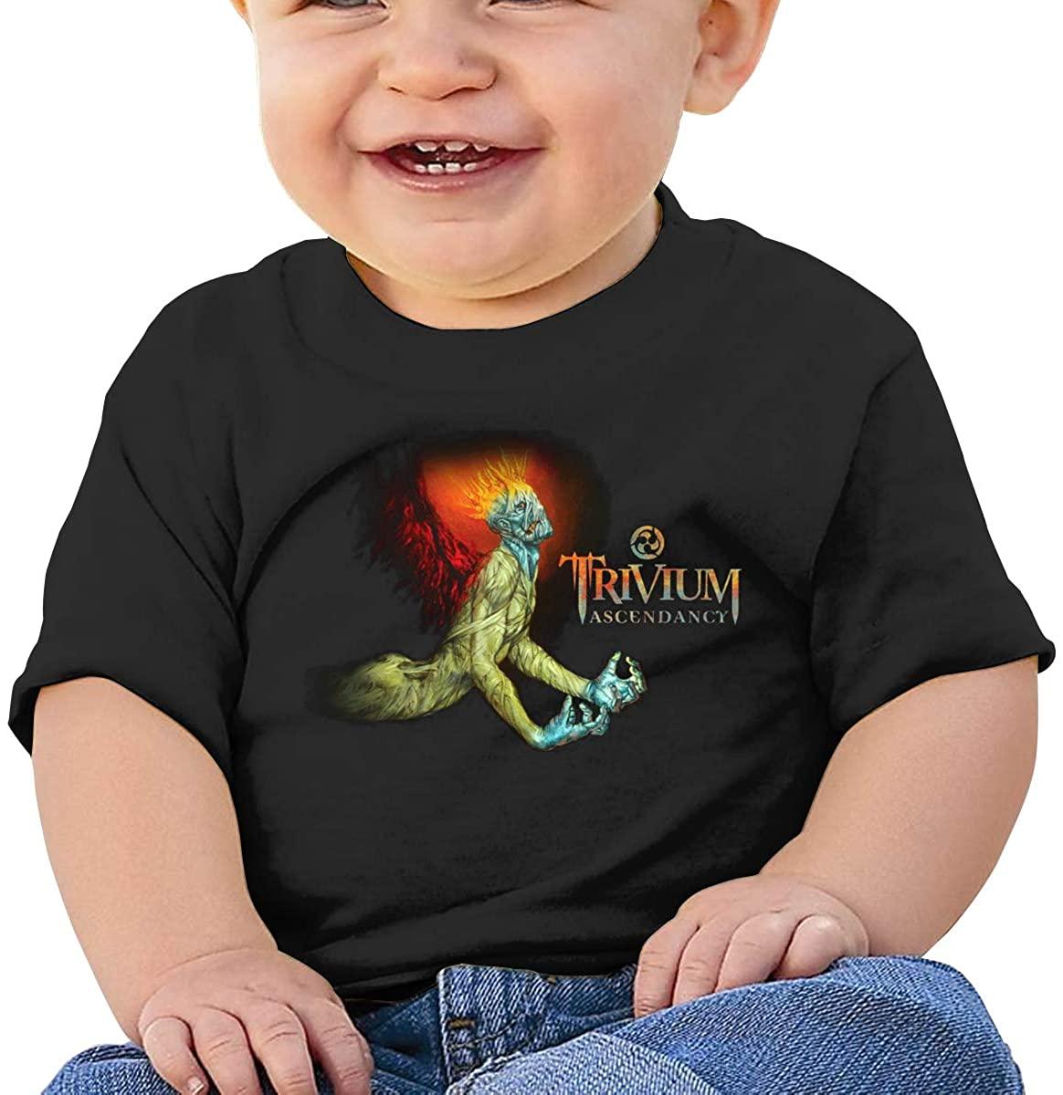 Cute Art Short-Sleeved Style Unique Trivium Ascendancy Baby T-Shirt
