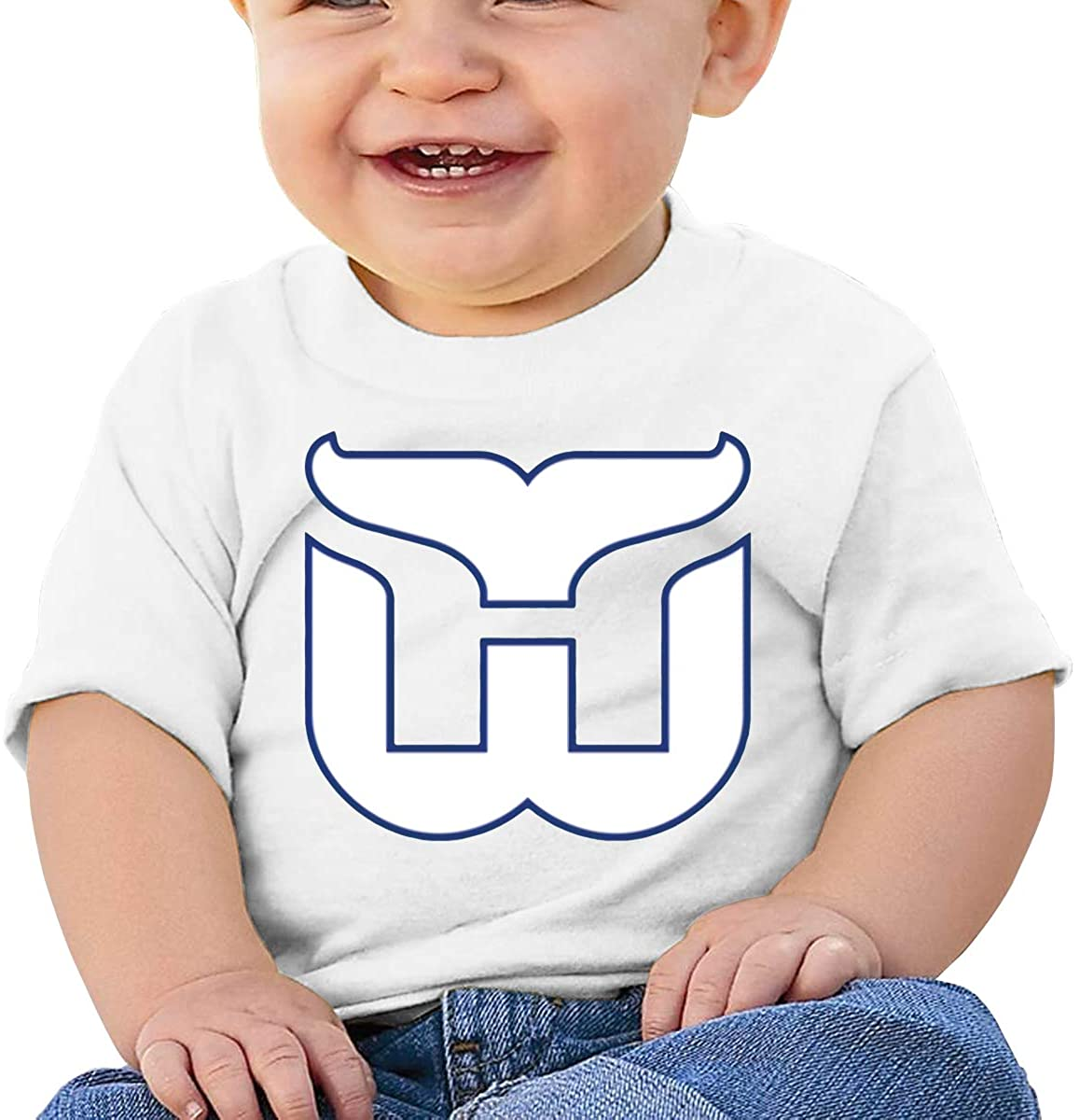 Funny Hartford Whalers Classic Retro Comfortable Baby T-Shirt