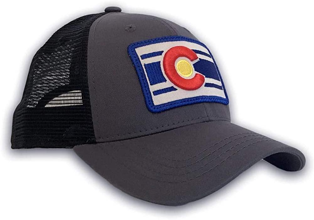 Colorado Limited Unisex Colorado Trucker Hat - Mesh Back Cap with Adjustable Fit