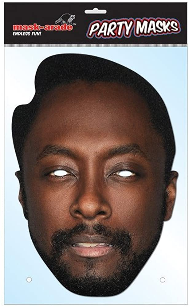 Will.i.am Celebrity Face Mask
